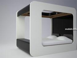 Концептуальная мультимедийная кровать (видео)