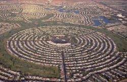 Круговые поселения людей (фото)