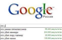 Забавные результаты запросов в Google (фото)