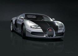 Хромированная Bugatti Veyron (фото)