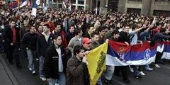 Беспорядки в Белграде прекращены