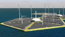 Плавучие острова-электростанции обеспечат энергией всю планету