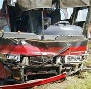 Под Саратовом разбился автобус