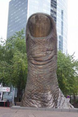 В Белгороде увековечат большой палец