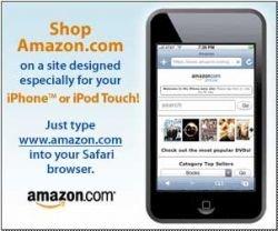 Amazon представляет специальный сайт для владельцев iPod touch/iPhone