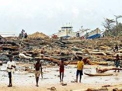 Циклон разрушил дома 145 тысяч жителей Мадагаскара