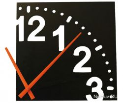 Wrapables: оригинальные настенные часы