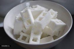 Сахарные блоки вместо кубиков