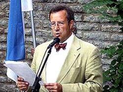 Президент Эстонии отказывается говорить по-русски - это равносильно принятию советской оккупации