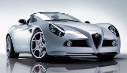 Alfa Romeo 8C Spider - итальянская элегантность