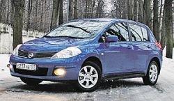 Тест-драйв: Nissan Tiida