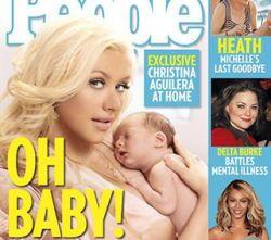 Кристина Агилера в бешенстве: фото ее младенца плохо продаются