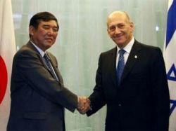 Премьер Израиля Эхуд Ольмерт предложил Японии союз против альянса КНДР и Ирана