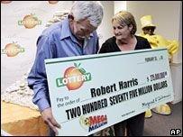 Житель штата Джорджия выиграл 275 млн. долларов