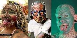 Десятка физически модифицированных людей планеты: тату, пирсинг, имплантаты