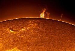 Удивительные фотографии солнца (фото)