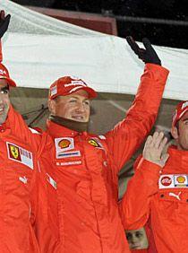 Михаэль Шумахер развеял слухи о своем участии в MotoGP
