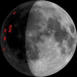 Американские ученые обстреляют Южный полюс Луны