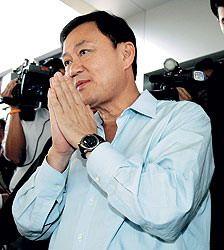 Бывший премьер Таиланда Таксин Чинават задержан и отпущен
