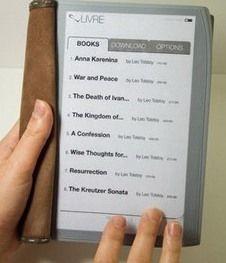 Livre - электронная книга будущего