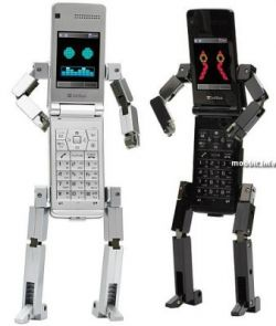Робо-телефоны от Toshiba (фото)