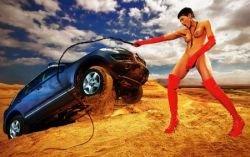 Как снималась эротическая реклама Volkswagen Touareg? (фото)
