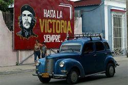 Раритетный кубинский автопарк (фото)