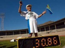 104-летний бегун побил мировой рекорд на стометровке