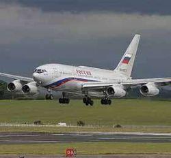 Ил-76 впервые в истории авиации МВД РФ получил собственное имя