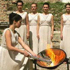 В Греции выбрана новая верховная жрица Олимпийского огня