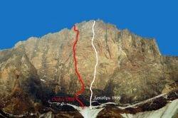 Российские альпинисты покорили высочайший пик Океании