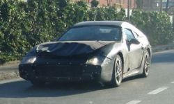 В Италии тестируют загадочную Ferrari