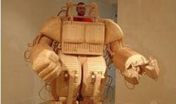 Боевой робот... из дерева