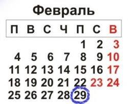 29 февраля - сегодня самый страшный день