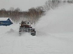 Коммунальные службы Камчатки не справляются с уборкой снега