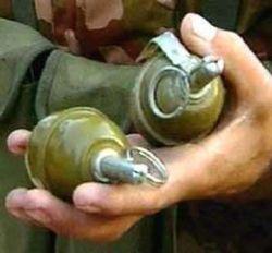 Задержанный пьяным за рулем сержант милиции взорвал себя гранатой