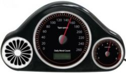 USB WPM Speedometer: а Вы как быстро печатаете?