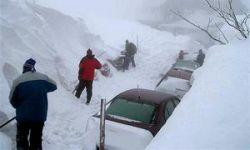 В снежных заносах на трассе Москва – Челябинск стоит 800 автомобилей