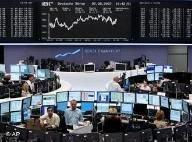 На биржах Европы отмечается крупное падение курса акций