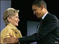 Барак Обама резво обошел Хилари Клинтон на финансовом фронте