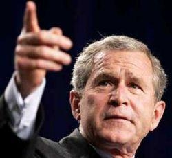 Джордж Буш выходит на тропу войны с наркоманией