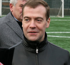 Предвыборная борьба закончилась победой Дмитрия Медведева