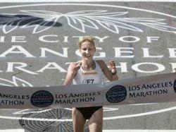 Российская бегунья Татьяна Арясова выиграла марафон в Лос-Анджелесе