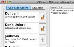 """Новая версия ZiPhone обещает \""""разлочку\"""" iPhone 1.1.4"""