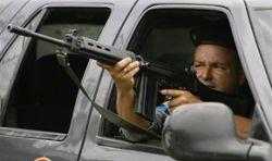 Бразильские полицейские убили четверых угонщиков