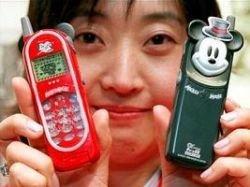 Walt Disney начал выпускать мобильные телефоны в Японии