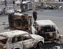 Во время беспорядков в Ереване пострадал 131 человек и 8 погибли