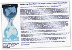 Сборник компромата Wikileaks.org снова работает