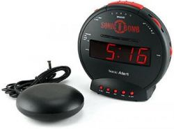 Sonic Bomb Alarm Clock: этот будильник разрушит вам утро