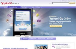 Yahoo выпустила программное обеспечение Yahoo Go 3.0 в Европе и России